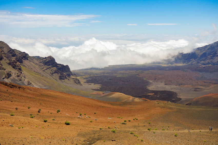Beauty In Nature Blue Cloud - Sky Day Dramatic Landscape Extreme Terrain Geology Hawaii Landscape Majestic Mountain Mountain Range Nature No People Non-urban Scene Outdoors Physical Geography Remote Scenics Sky Tourism Tranquil Scene Tranquility Travel Destinations Valley