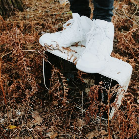 Grass Nature Outdoors Close-up Nike Nike✔ Nike Air  Adventure Autumn Forest