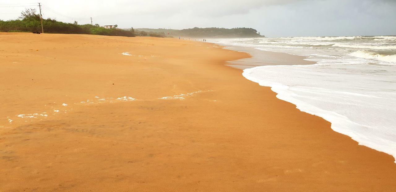 Sea And Sky Seaside Sea View Sea_collection Sand Dune Wave Sea Desert Beach Sand Full Length Backgrounds Low Tide Hill Tide Surf Coast Rushing Rocky Coastline Seascape