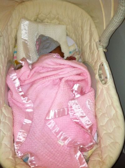 Goodmorning from my new baby cousin Tyriana My'Adraine Robinson ???