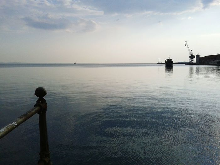 Friendly waters ~ Tranquility Seafront Nature_perfection Blue Sky And Sea Thessaloniki Port  Salonica Greece Great Views Europe_gallery Mybestphoto2015