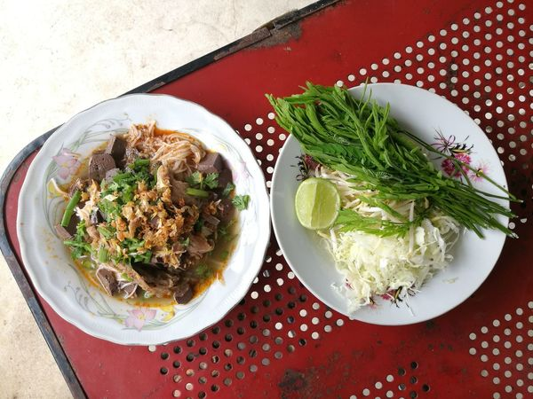 Thai Noodle Lanna Food Northern Thai Food Rice Noodles Khanom Chin Nam Ngiao Nam Ngew, Thai Food Nam Ngeow Thai Cuisine Colour Of Life