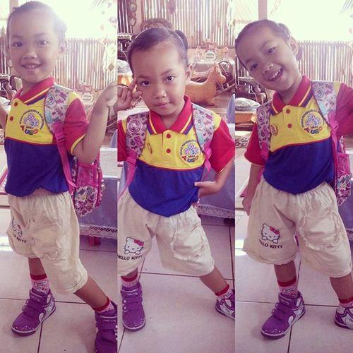 Bismillah Syahla Firstdayofschool School Playgroup Bimba Aiueo Bogor Ceria Banget
