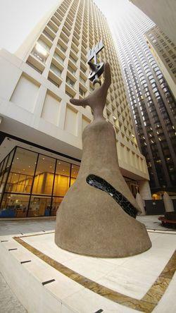 Miró  City Sculpture Statue Architecture Building Exterior