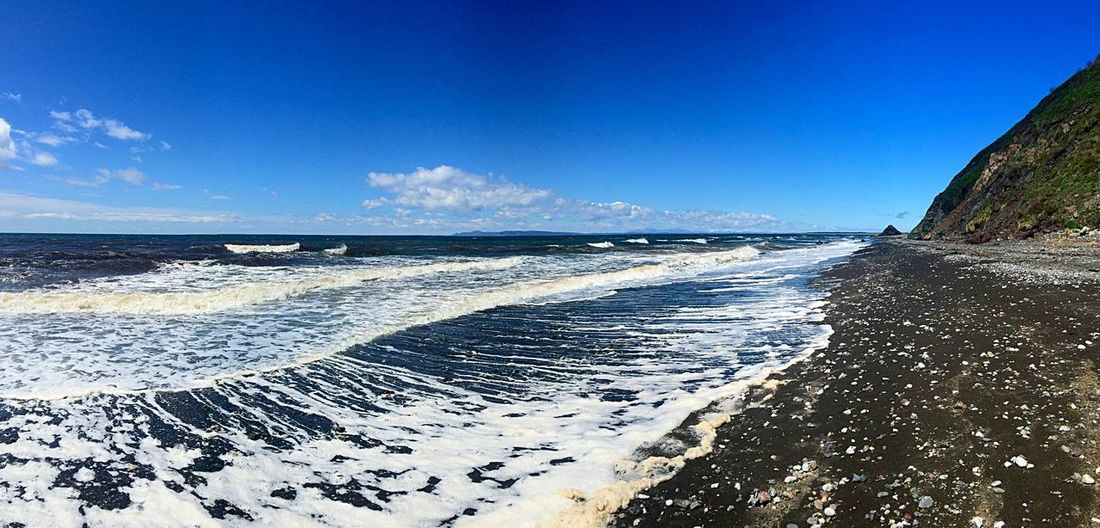 Relaxing Sakhalin Nature_collection Sea And Sky Sea Landscape Seaside Beach Russia
