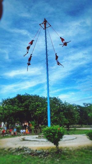 Share Your Adventure Nature Voladores De Papantla Culture Cancun Mexico