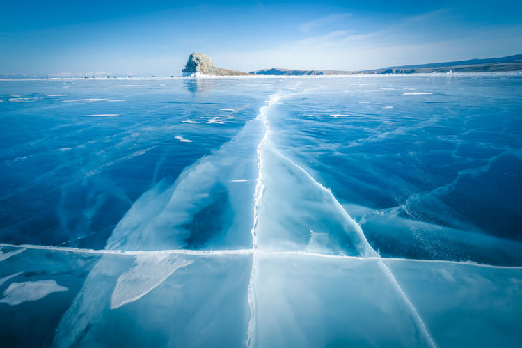Natural breaking ice in frozen water at Lake Baikal, Siberia, Russia. Water Sea Scenics - Nature Beauty In Nature Blue Nature Day Ice No People Cold Temperature Reflection Tranquility Sunlight Winter Outdoors Swimming Pool Irkutsk Baikal Lake Russia Frozen Underwater Pool Iceberg