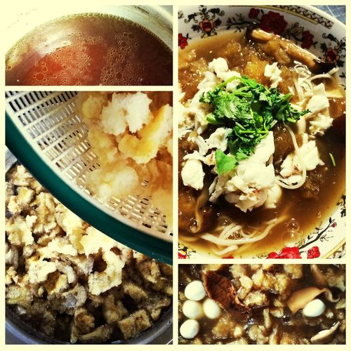 Fish maw soup!