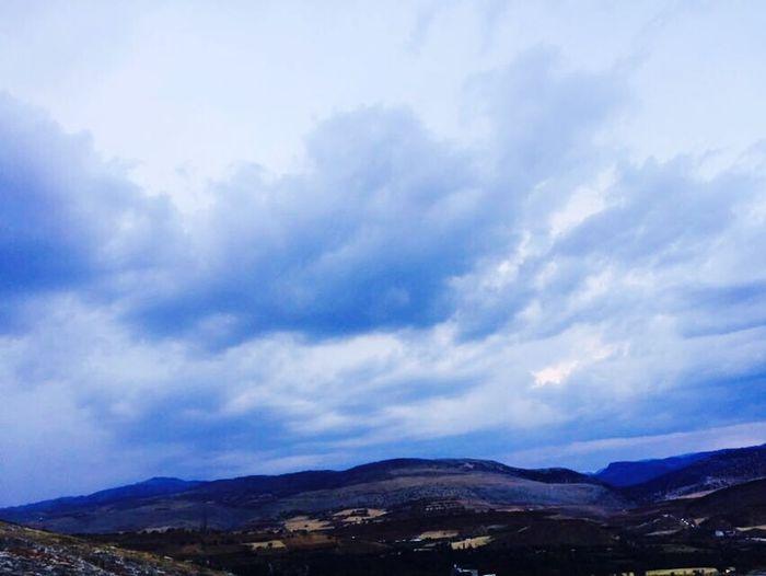 Cloud - Sky Mountain Nature Sky Beauty In Nature Adıyaman Turkey Türkiye Turkey ♡