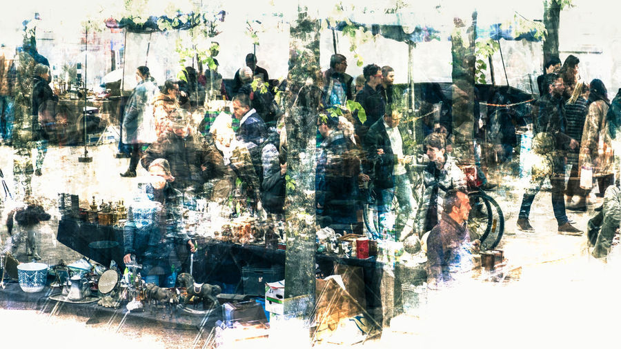 Abstract Photography Abstractions In Colors Abstract Abstract Art Abstract Backgrounds Architecture Crowd Day Indoors  Large Group Of People Men Movement People Real People Women
