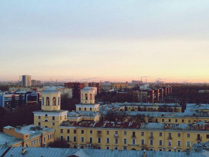 Taking Photos Hello World Morning City