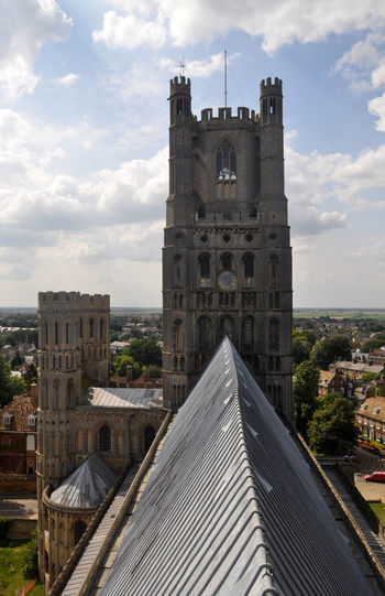 ely cathedral roof Architecture Cathedral Day Ely Ely Cathedral England Outdoors Roof Roof Top Travel View