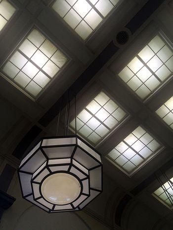 Amazing light Art Deco Ceiling Geometric Shapes