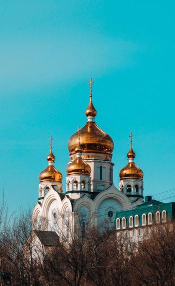 Russia temple