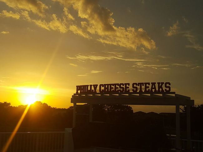 Baseball Hot Dogs Phillycheesesteak  Sunset