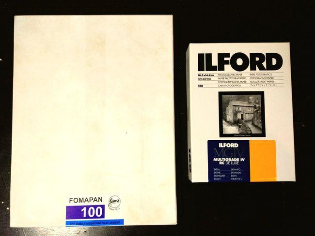 10x15 ilford paper Vs 18x24cm foma negative Largeformat