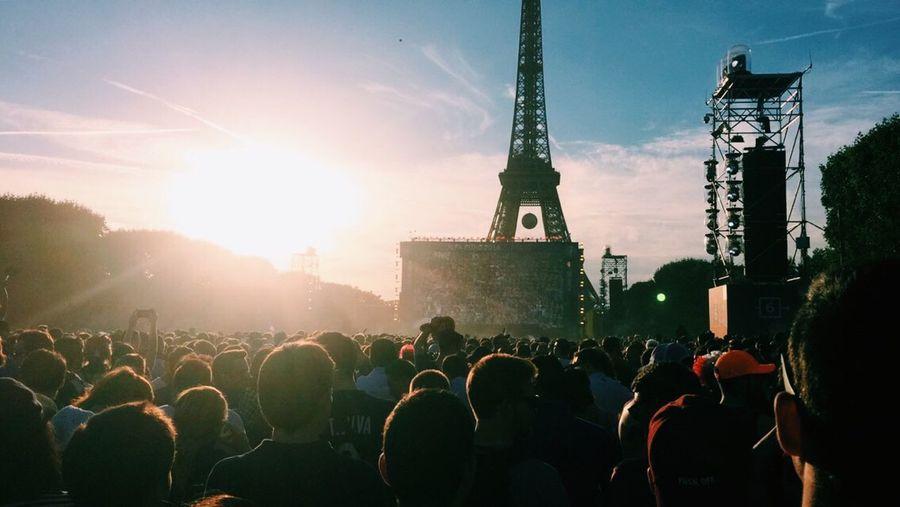 FRAALL Euro2016 2016 2-0 Win Griezmann France Allemagne FanZone Paris Champs De Mars