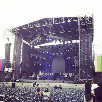 Escenario para ver a @anagabrieloficial LaVozDeChile se Prepara!!