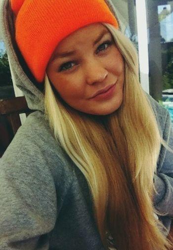 Blonde Girl Swaggin Taking Photos Finland