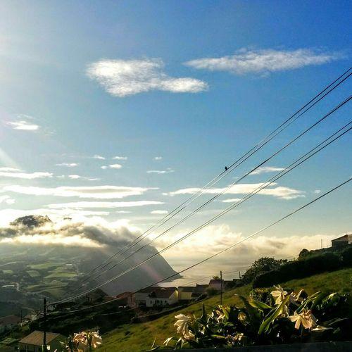 Nature_collection Pure Nature Azores Povoação Vila Da Povoação On The Road Clouds Moutains Landscape_Collection The Great Outdoors With Adobe