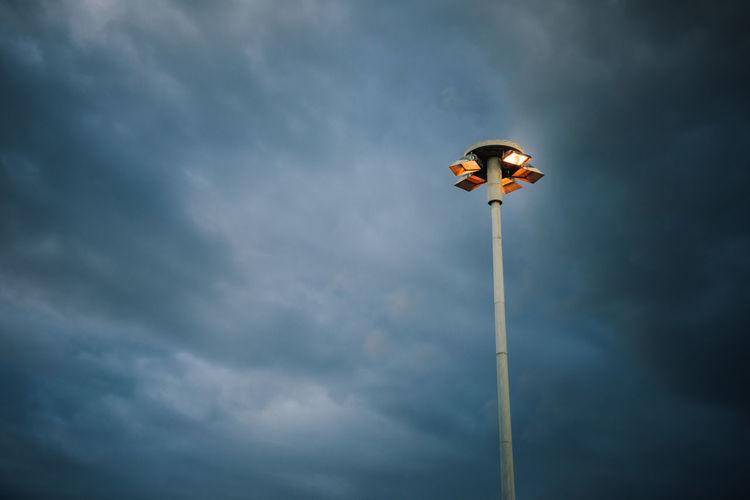 Lamps post at