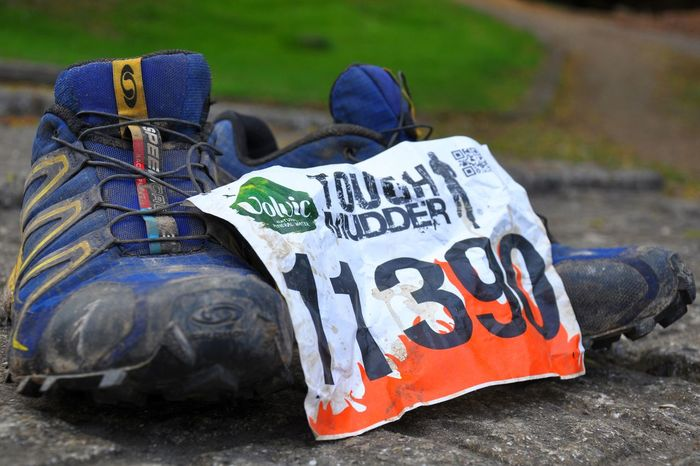 Tough Mudder Muddy Number Running Running Shoes Tough Mudder Tough Muddering Trainers