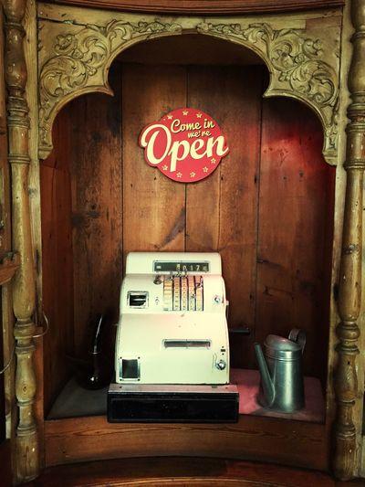 Old cash register Antique Old-fashioned Bar Old Forniture