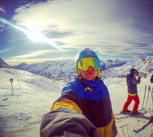 Powder Skiing Bestdayever Bigmountains Austria
