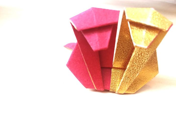 申 申年 😚 Monkey Monkeys Origamiart Origami Gold Red Lucky Colors Chinese Year Of Monkey Chinese Zodiac 干支 Showcase March Showcase: March 2016 Japan