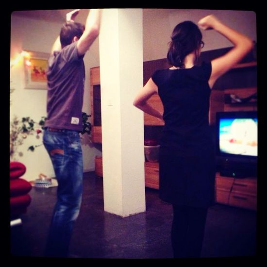 We Are Family Cousin Wii Justdance