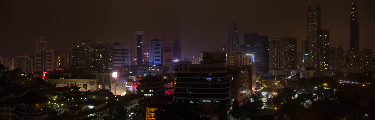 EyeEmNewHere Panorama Building Exterior City City Life Crowd Night Nightlife Residential District Skyscraper Tall - High Tower