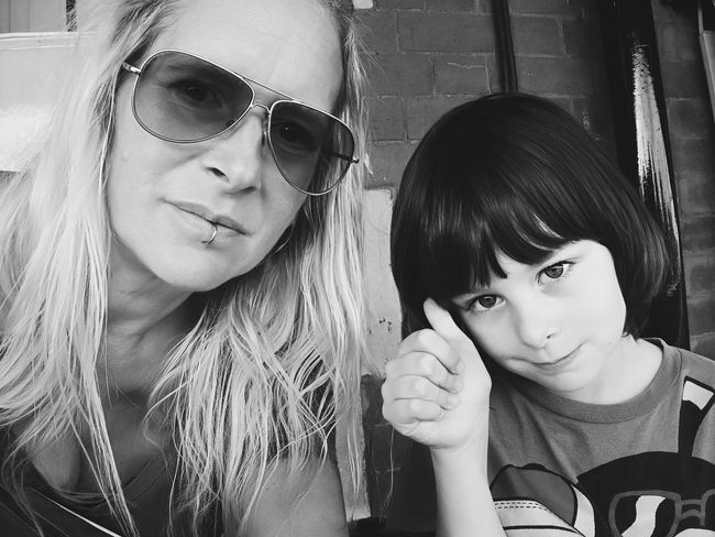 Two People Headshot Togetherness Close-up Selfie ✌ Mum And Son Adventure Laura Loo Photography The Week On EyeEm