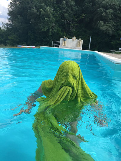 Art Beauty In Nature Blue Close-up Day Green Green Color Idyllic Joke Monster Montserrat Nature No People Outdoors Pool Rippled Scenics Towel Tranquility Tree Turquoise Colored Turtle Water Showcase June