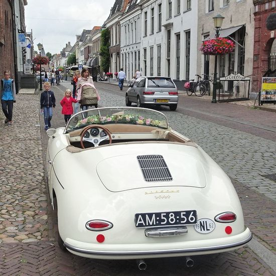 Check This Out Beautiful Old Car Wedding Car Taking Photos Enjoying Life Elburg Netherlands
