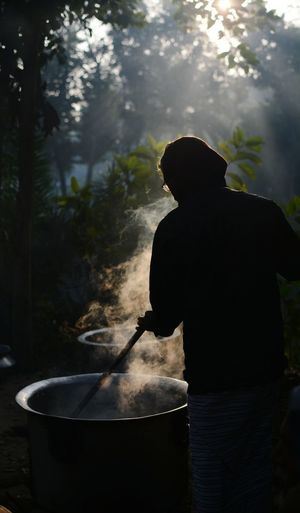 One Person Outdoors Day Light And Shadow Food Cooking Traditional Bengali Culture Morning Winter Winter Morning EyeEm Best Shots Bangladesh Diaries