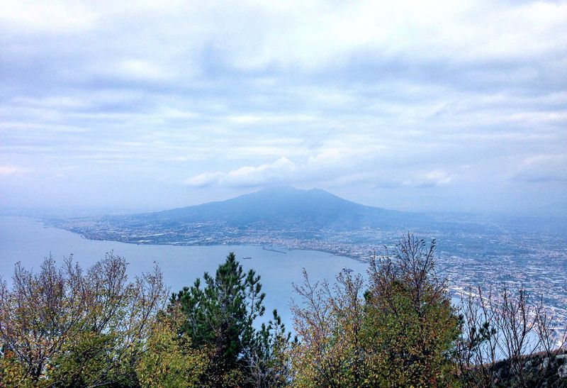 Napoli Naples Vesuvio Sky And Clouds Sea Sky Sea And Sky Relaxing Nature Photography Nature Enjoying Life
