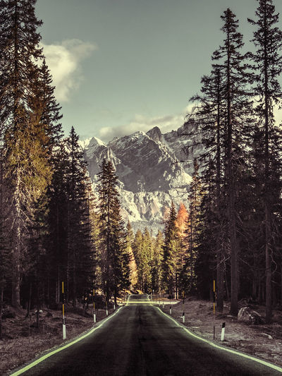 Road to Cortina