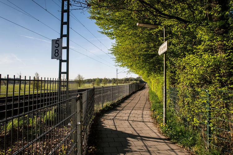 Unterhaching, Bavaria, Germany Bavaria Cityscape Morning Unterhaching Germany Sbahn Springtime Train Station