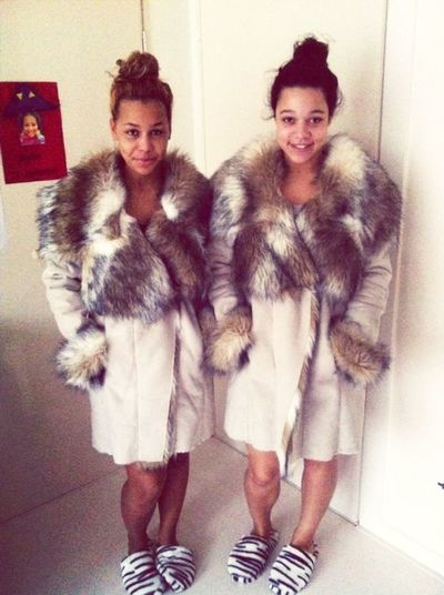Fashion Fur Me And My Sis Lepard