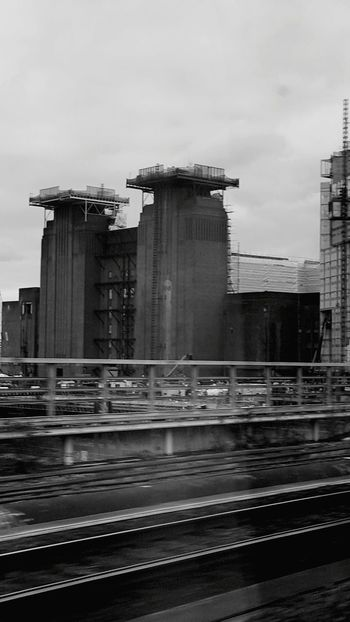From The Train Battersea Power Station Construction