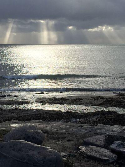 Wembury Wembury Beach Sea Scenics Nature Beauty In Nature Tranquility Water Tranquil Scene Beach Sky No People Idyllic Cloud - Sky Outdoors Sunlight Sand Sunset Day Landscape