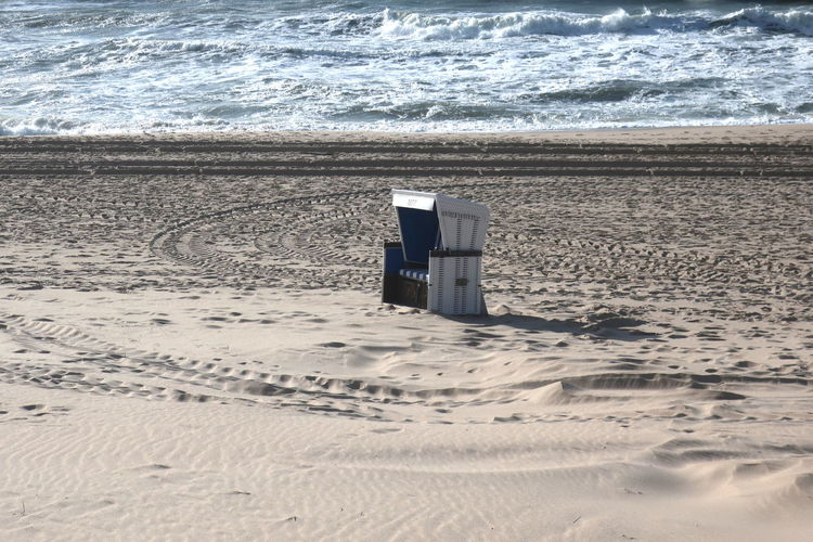 Land Sand Beach Sea Water Nature Motion Day No People Wave Beauty In Nature Outdoors Scenics - Nature Sunlight Sport Aquatic Sport Horizon Tranquility Beachchair Sylt Nordseeküste Nordsee