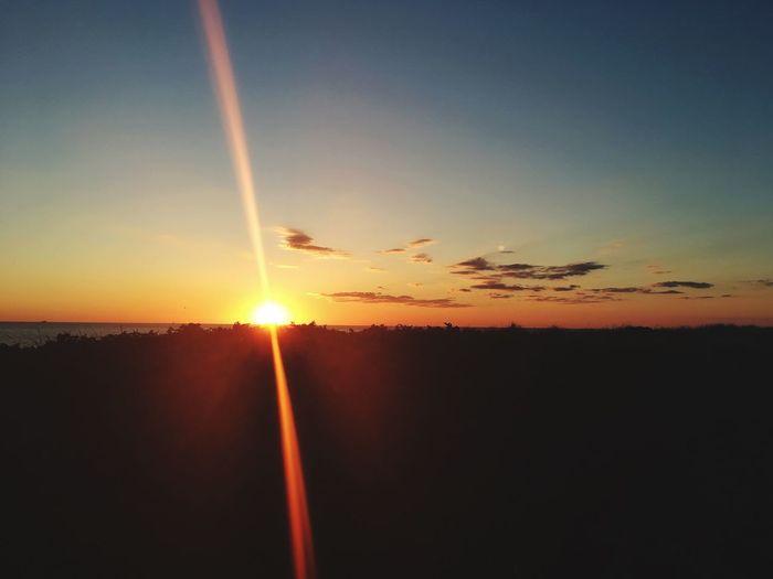 Sunset Beauty In Nature Sun Orange Color Scenics - Nature Cloud - Sky