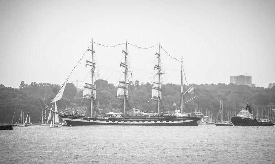 Kieler Woche - Ship Balck And White Blackandwhite Kiel Kieler Woche Sailing Ship Ship Urban Life Urbanphotography