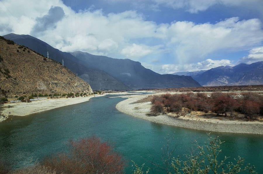 River Winter Landscape Hello World 尼洋河 风景