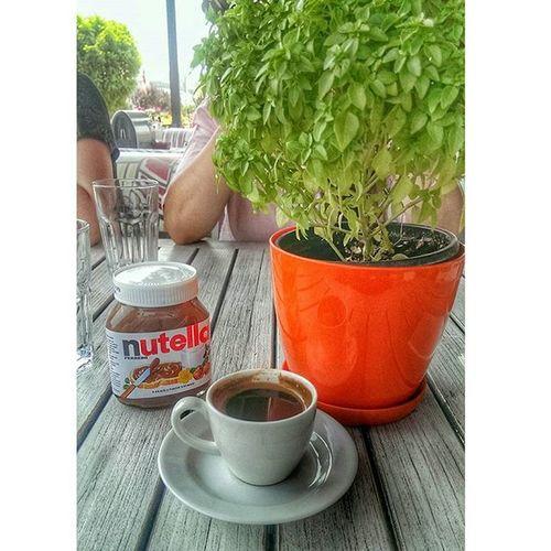 Bng Bugunnereyegitsem Turkishcoffee Coffeelovers delicious nutellalove nutella sundaybreakfast funnytimes hdr_pics