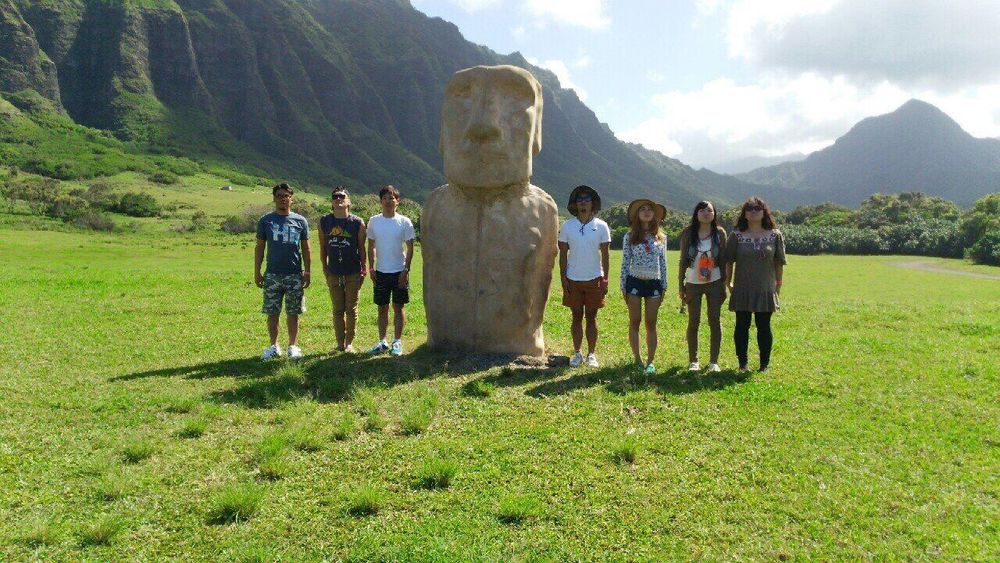 Hawaii Kualoa Ranch Family❤ Hi!