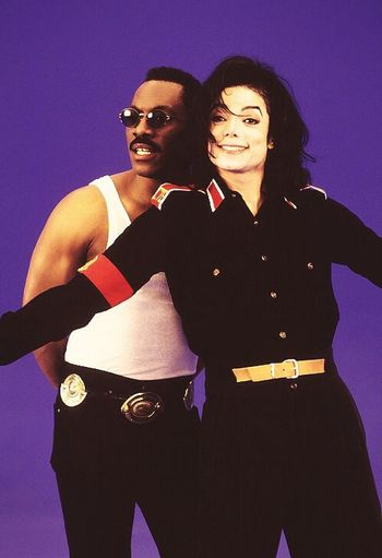Michael Jackson Eddie Murphy Whatzupwitu