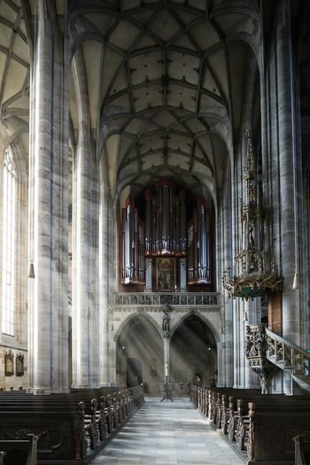 Münster St. Georg Architecture Indoors  Religion No People Church Architecture Church Kirche Dinkelsbuhl Church Buildings Churches