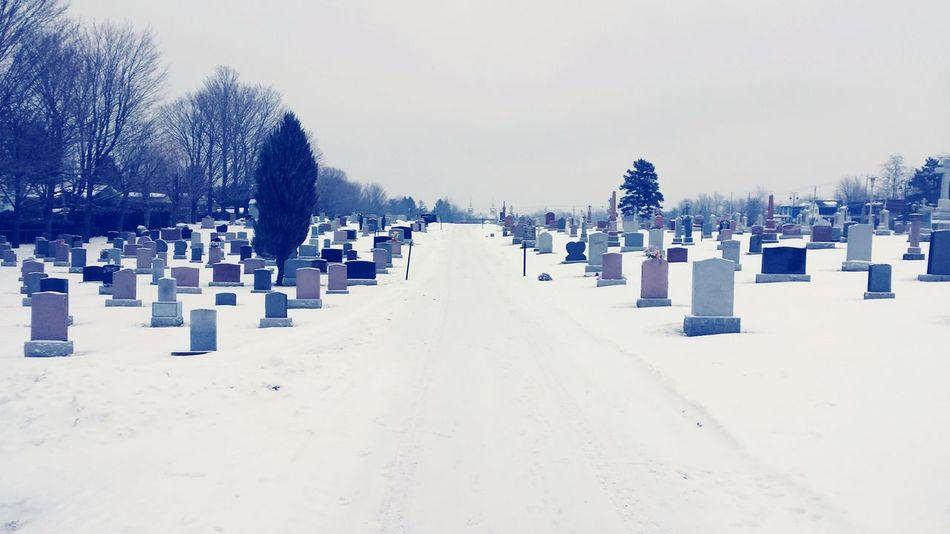 Cimetary Snow Day Memories ❤ Memorialday Peace And Quiet